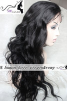 Wholesale Fashion loose curly Full Lace Wig b b Stock density as picture Indian Remy human hair Wig Unprocessed