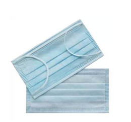 Wholesale 50PCS Disposable dustproof anti virus medical non woven fabrics face mask mouth mask
