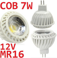 Spotlight 12v mr16 down light - 12V W MR16 Led Dimmable Spotlights Bulb Lamp Angle Warm Cool White COB Led Down Lights Lumens Brand New