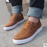 Wholesale Summer Skate Shoes For Men Summer Navy Brown Black Color S10