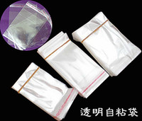 Jewelry Pouches,Bags adhesive pouch - 4 cm cm cm cm Flap Seal Self Adhesive Seal Poly Bag Opp Packaging Clear Plastic Bag