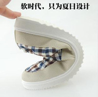 Cheap 2014 Men Casual Canvas Shoes British Check Style Red Grey Blue Color Rubber Sole Mix 1prs Lot Free Shipping 0404S9