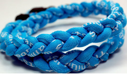 2016 hot titanium braided necklace tornado SPORTS football baseball new fashion necklaces accessories for women men