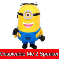 new design 20pcs Despicable Me 2 carton mini speaker support...