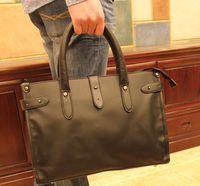 Wholesale New style Briefcase Man Korean type Men s bag handbags leisure shoulder Male bussiness package