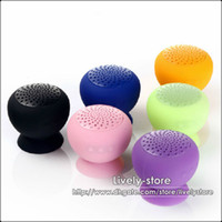 DHL 200PCS Mini Protable Bluetooth Speaker Wireless Mushroom...