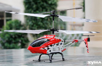 Wholesale Syma S107N CH infrared Remote control aircra channel RC Helicopter with Gyro Flashlight