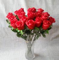 silk wedding flowers - Valentine roses silk wedding flowers simulation