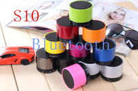 Universal answer radio - NEW S10 mini wireless bluetooth speaker portable speaker for bluetooth mobile phone support answer calling and TF card
