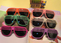 Wholesale Blinds party disco dance bar glasses II non mainstream fashion sunglasses decoration e001