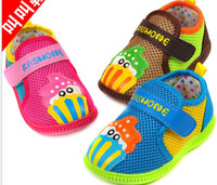 baby sound shoes - 2014 spring new baby shoes baby shoes children cartoon Mesh Sound shoesCare for Children