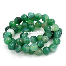 1 Strand(about 48PCs) Qinghai Jade Stone Round Loose Beads 8mm
