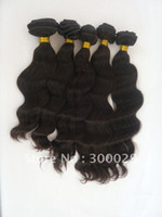Wholesale 3pcs Malaysian virgin remy hair weft Body Wavy Natural color g piece quot quot oz pc factory outlet price