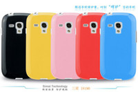 For Samsung TPU For Christmas New Jelly & Pudding Design Matte TPU Soft Back Case For Samsung Galaxy S3 mini i8190 200pcs mix color