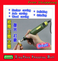 0 100mm 0 Multifunction mini engraving machine Nuclear wood jade carved tools carving handle electric drill small electrics grinder tools