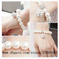Wholesale Wild pearl ball bracelet personalized jewelry fashion jewelry sweet lady v239