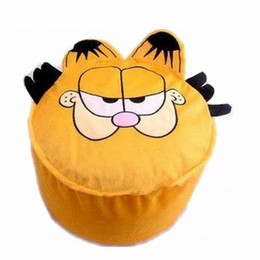 Wholesale Super Cute Garfield Cartoon Inflatable Stool Animal Shaped Inflatable Stool