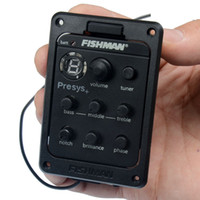 Wholesale Fishman Presys Fishman PRESYS Onboard Guitar Preamp EQ w Tuner Sonicore Undersaddle Pickup MU0362