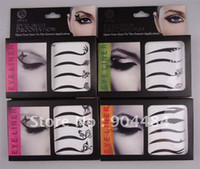 Wholesale Freeship Styles Decal Sticker pack Eyesliner Fashion Paste Make up Tool Beauty Tattoo Shadow Product