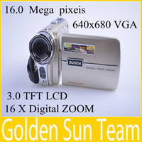 Wholesale gift SD card OUCCA new camera camcorder DDV C8 multi megapixel digital camera degree rotation