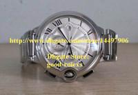 Wholesale Men s Auto Date Chronograph Watch Men Japan Ballon Quartz Watches Mens Sports Sapphire Crystal Wristwatches
