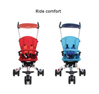 Wholesale Comfortable Ride Travel specific Stroller Three Wheel Portable Light Folding Umbrella Car Baby Car Child Stroller