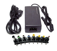 Wholesale 96W Universal Laptop Power Adapter Notebook AC Charger FOR HP DELL IBM Lenovo ThinkPad with US EU UK AU plug