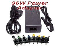 Wholesale 96W Universal Laptop Charger Notebook Power adapter with US EU UK AU plug for HP DELL IBM Lenovo ThinkPad