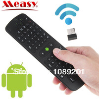 Wholesale MEASY RC11 GHz Wireless Air Fly Mouse Keyboard for PC Smart TV Android TV Box
