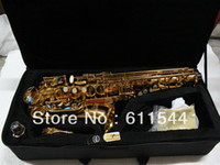 Wholesale High Quality Newest Model Golden Alto Saxophone with Case