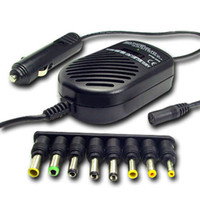 Wholesale 80W Universal Laptop Notebook Car Charger for Acer Dell Asus Lenovo HP Toshiba Sony with retail package