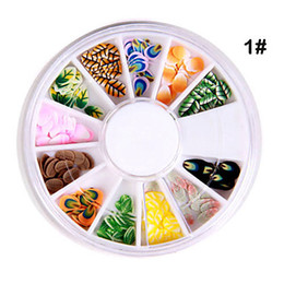 Wholesale 10pcs x D Different Shaped Nail Art Decoration