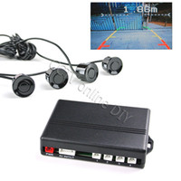 Car Parking Sensor car security camera - Security Car Parking Sensors with Video In Out for Car Rearview Camera Montior Detection Distance Indication