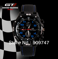 Men's Round 24 2013 new,Pro Fashion Men's Watches F1 Grand Touring GT Men Sport Quartz Watch Military Watches Army Japan PC Movement Wristwatch
