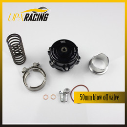 Wholesale Tial mm turbo engine Blow Off valve with aluminum flange Tial BOV TURBO INTERCOOLER V BAND clamp black