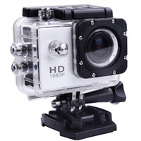 Wholesale off Action Camera Diving Meter Waterproof Camera HD White SJ4000 MP Full P Action Sport Camera CAM