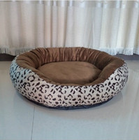 Wholesale Leopard washable pet dog kennel