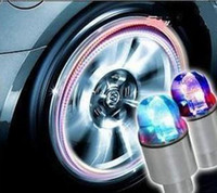 Wholesale Cheap Novelty Car Bike LED Flash Tyre Light Wheel Valve Stem Cap Lamp Motorbicycle