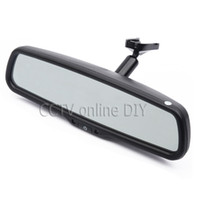 Wholesale 4 quot TFT LCD Car Rear View Rearview Mirror Monitor with Special Bracket Resolution CH Video Input