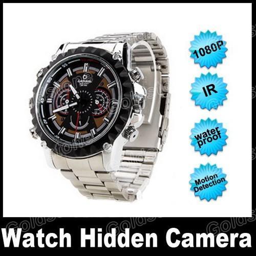 hd 1080p ir night vision spy watch