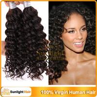 """100g Malaysian Hair Natural Color 4Pcs Curly Malaysian Virgin Hair Natural Wave Wavy Remy Human Hair Kinky Curly 12""""-28"""" Natural Black 1B# Human Hair Weave Extensions"""