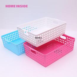 Wholesale Storage Baskets Japanese - Japanese style storage basket desktop storage box plastic home storage cabinet, dandys