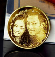 Wholesale personalized coin gift for Anniversary girlfriends boyfriends family souvenir K commemorative coin