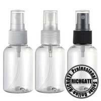 98mm(Height) , 36mm(Diameter)   100pcs x AA47 50ml PET Atomizer Clear Body Bottle Plastic Refillable Spray Bottles Makeup Tool Transparent Cosmetic 3 Types Pump Nozzle