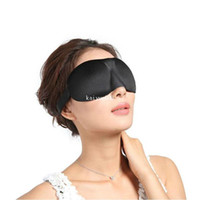 Wholesale New Sleeping D Eye Mask Eyeshade Cover Blinder Happy Travel Sleep Rest Relax