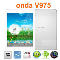 Onda 9.7 inch Quad Core Onda V975 V973 A31 Quad Core Android 4.2 Tablet PC 9.7inch Retina IPS Capacitive Screen 2048x1536 16GB