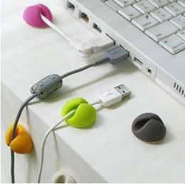 Fedex agradable Cord Cable Clips Cable gota Corder gota Organizador ClipTies Gestión # K07509