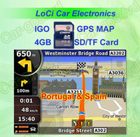 7 sd igo gps maps - The latest GB SD TF card with car IGO Primo GPS Navigator map for Portugal Spain