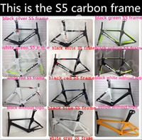 Road Bikes Carbon Fibre 48cm.52cm.54cm.56cm Cervelo Bicycle carbon frame S5 team VWD aero road carbon fiber frame+fork+aero seatpost+clamp+headset size is: 48 52 54 56 58cm