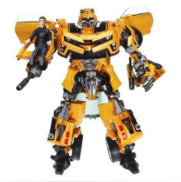 Wholesale Transformation Human Alliance Robot Bumblebee and Sam Anime Movie Model Action Figures classic toys for boys cartoon with box